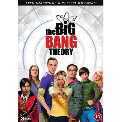 Big bang theory: Säsong 9 (3DVD) (DVD 2016)