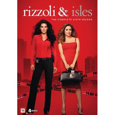 Rizzoli & Isles: Säsong 6 (4DVD) (DVD 2016)