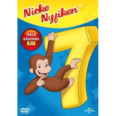 Nicke Nyfiken: Säsong 7 (DVD) (DVD 2014)
