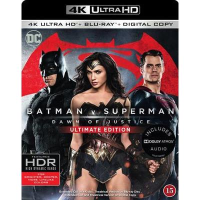 Batman V Superman: Dawn of justice / U.E. (4K Ultra HD + Blu-ray) (Unknown 2016)