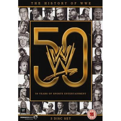History Of WWE (Wrestling) (3DVD) (DVD 2015)