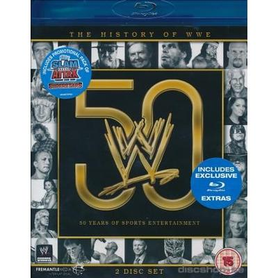 History Of WWE (Wrestling) (2Blu-ray) (Blu-Ray 2015)