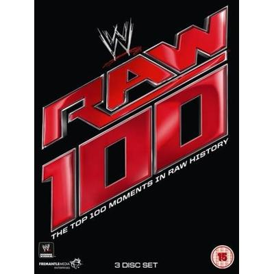 Top 100 Raw Moments (Wrestling) (3DVD) (DVD 2015)