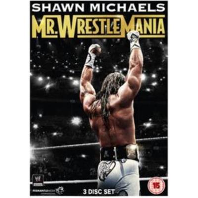 Shawn Michaels - Mr Wrestlemania (Wrestling) (3DVD) (DVD 2015)