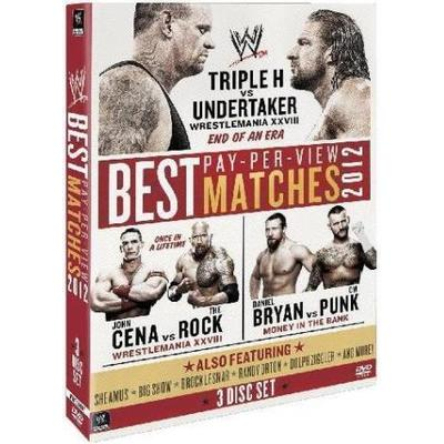 Best PPV Matches 2012 (Wrestling) (3DVD) (DVD 2015)