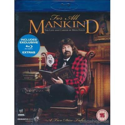 For All Mankind - Mike Foley (Wrestling) (2Blu-ray) (Blu-Ray 2015)