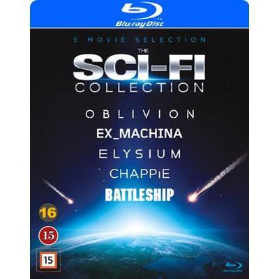 Sci-Fi Box - 5 filmer (5Blu-ray) (Blu-Ray 2016)