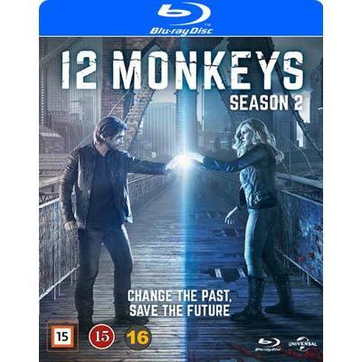 12 Monkeys: Säsong 2 (3Blu-ray) (Blu-Ray 2016)
