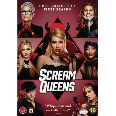 Scream Queens: Säsong 1 (4DVD) (DVD 2016)