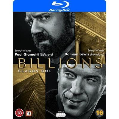 Billions: Säsong 1 (4Blu-ray) (Blu-Ray 2016)