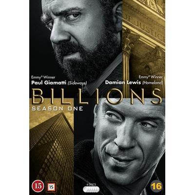 Billions: Säsong 1 (6DVD) (DVD 2016)