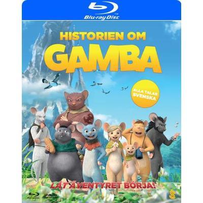 Historien om Gamba (Blu-ray) (Blu-Ray 2015)