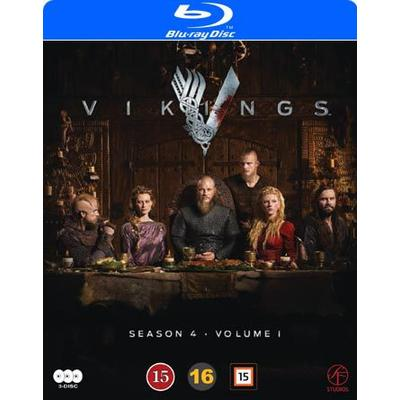 Vikings: Säsong 4 vol 1 (3Blu-ray) (Blu-Ray 2016)