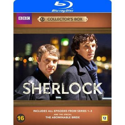 Sherlock Holmes: Säsong 1-3 + filmen (4Blu-ray) (Blu-Ray 2016)
