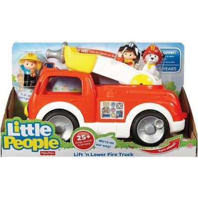 Fisher Price Little People Lift 'n Lower Fire Truck