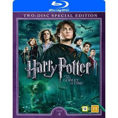 Harry Potter 4 + Dokumentär (2Blu-ray) (Blu-Ray 2016)