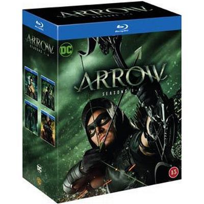 Arrow: Säsong 1-4 (16Blu-ray) (Blu-Ray 2016)