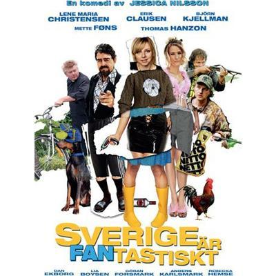 Sverige är fantastiskt (DVD) (DVD 2015)