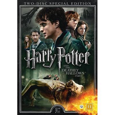 Harry Potter 8 + Dokumentär (2DVD) (DVD 2016)