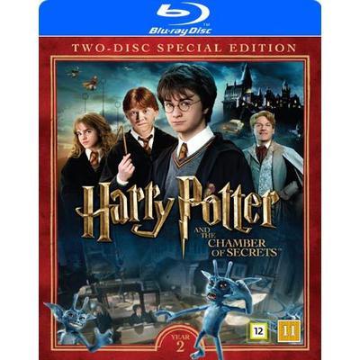 Harry Potter 2 + Dokumentär (2Blu-ray) (Blu-Ray 2016)