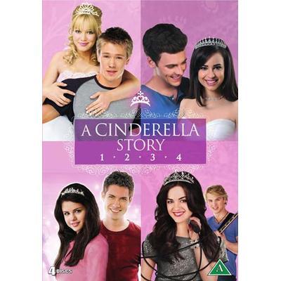 A Cinderella story 1-4 (4DVD) (DVD 2016)
