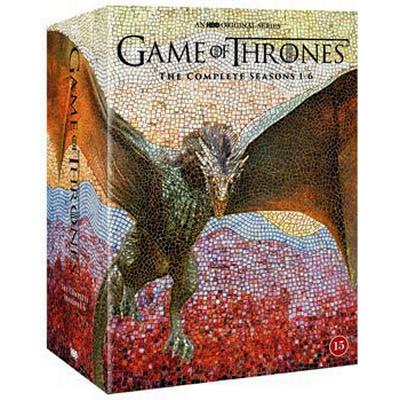 Game of thrones: Säsong 1-6 (30DVD) (DVD 2016)