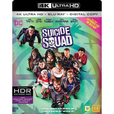 Suicide Squad (4K Ultra HD + Blu-ray) (Unknown 2016)