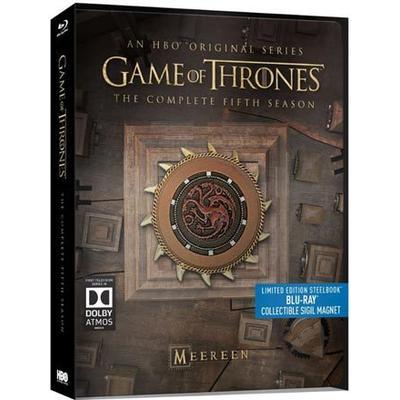 Game of thrones: Säsong 5 - Steelbook (4Blu-ray) (Blu-Ray 2015)