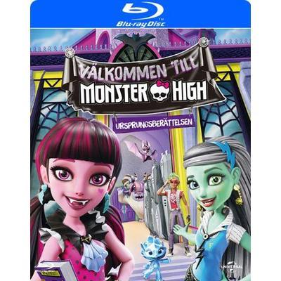 Välkommen till Monster High (Blu-ray) (Blu-Ray 2016)