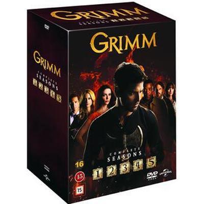 Grimm: Säsong 1-5 (29DVD) (DVD 2016)