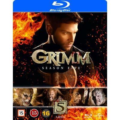 Grimm: Säsong 5 (5Blu-ray) (Blu-Ray 2016)