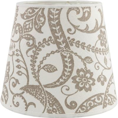 PR Home Mia Slät Lin Flora 14cm Lampshade Lampdel