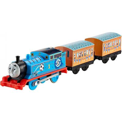Fisher Price Thomas & Friends Trackmaster Red vs Blue Thomas Motorised Engine