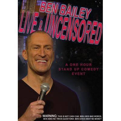 Bailey Ben: Ben Bailey Live And Uncensored (DVD) (DVD 2016)