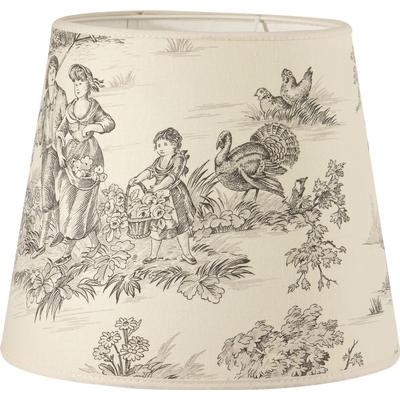 PR Home Mia L Toile 30cm Lampshade Lampdel Endast lampskärm