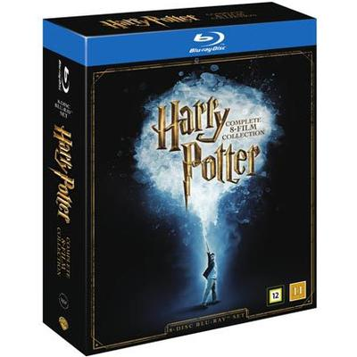 Harry Potter 1-8: Slimbox + karta & booklet (8Blu-ray) (Blu-Ray 2016)