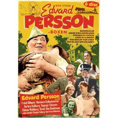 Den stora Edvard Persson-boxen (6DVD) (DVD 2016)