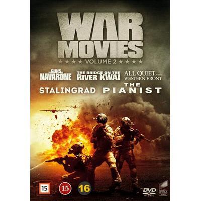 War movies: Vol 2 5 filmer (5DVD) (DVD 2016)