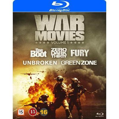 War movies: Vol 1 5 filmer (5Blu-ray) (Blu-Ray 2016)