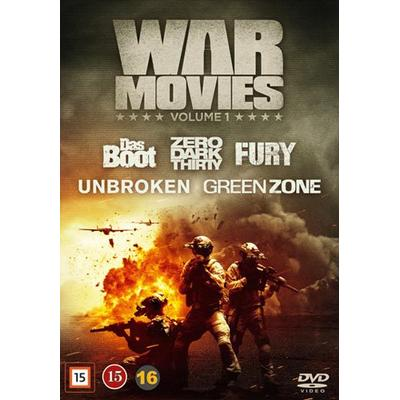 War movies: Vol 1 5 filmer (5DVD) (DVD 2016)