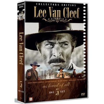 Lee van Cleef collection - 5 filmer (DVD) (DVD 2016)