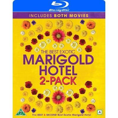 Hotell Marigold 1+2 (2Blu-ray) (Blu-Ray 2015)