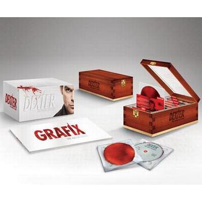 Dexter: Säsong 1-8 Ltd Deluxe collection (33DVD) (DVD 2014)