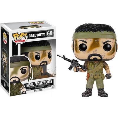 Funko Pop! Games Call of Duty Msgt. Frank Woods