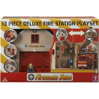 Character Fireman Sam Deluxe Fire Station