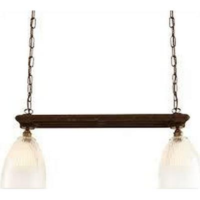 Mullan Lighting Rad Double Halophane Pendellampa