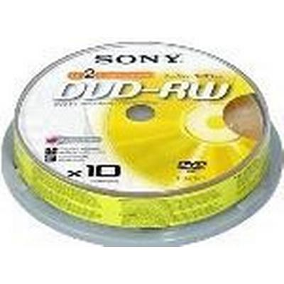 Sony DVD-RW 4.7GB 2x Spindle 10-Pack
