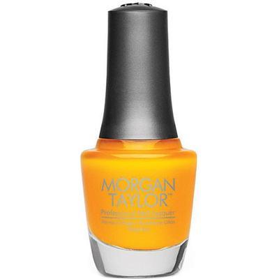 Morgan Taylor Chrome Collection #50209 Sunset Yellow Applique 15ml
