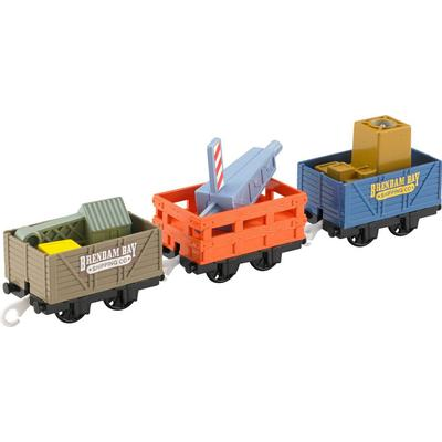 Fisher Price Thomas & Friends Trackmaster Dockside Delivery Crane Cargo & Cars