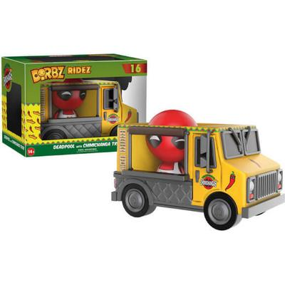 Funko Dorbz Ridez Deadpool with Chimichanga Truck